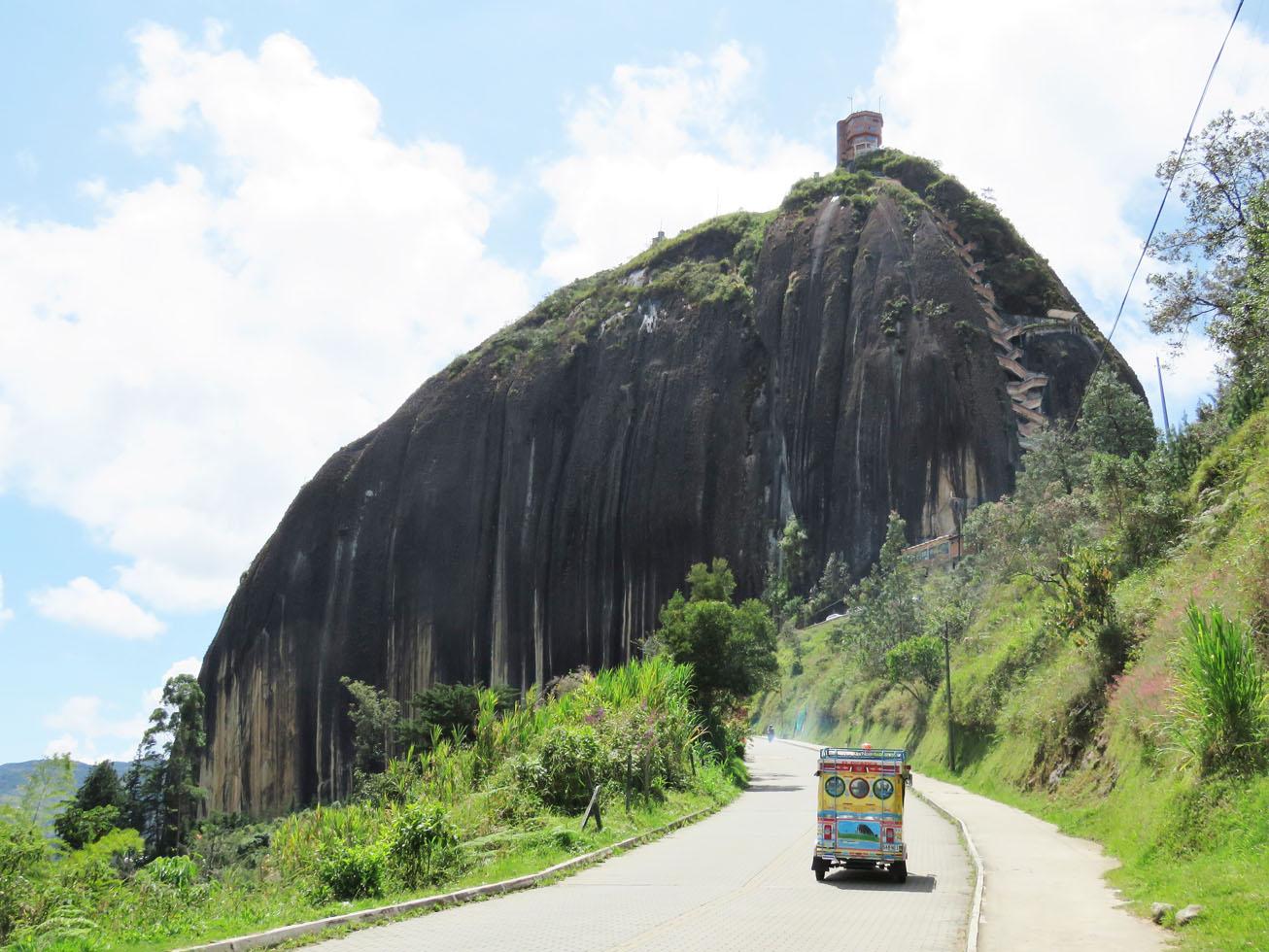 la Piedra de Guatape Colombia