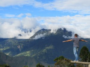 vrijheid reizen baños Ecuador