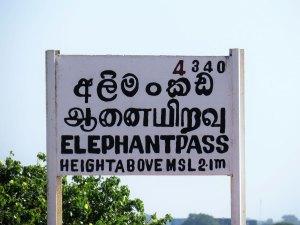 Elephant Pass Jaffna Sri Lanka