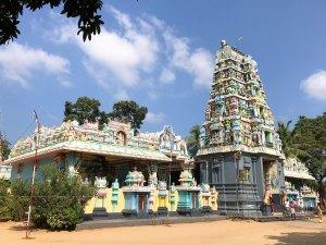 Hindoetempel Jaffna Sri Lanka