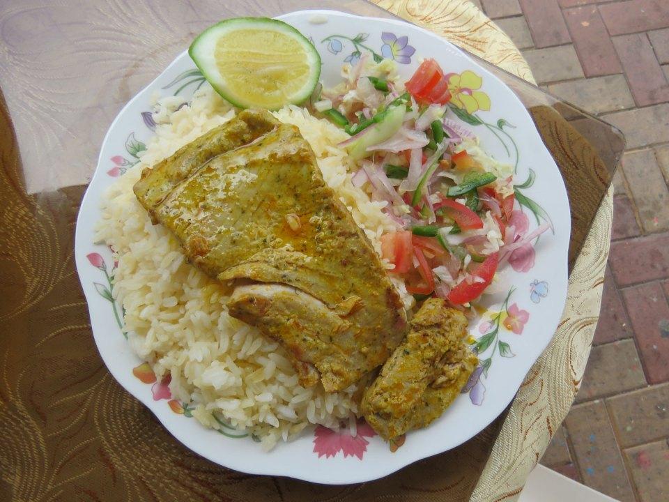Menu del dia La Espanita San Cristobal Galapagos