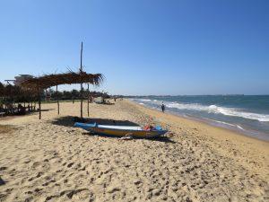 strand in Negombo Sri Lanka