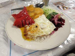 Typische gerechten Ecuador Llapingachos