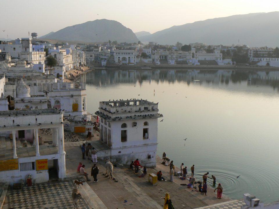Uitzicht hotel Pushkar India