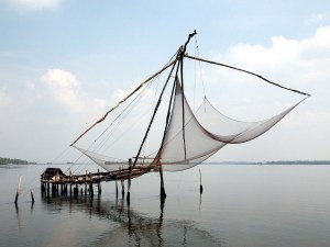 Chinese fishingnet Kochi India