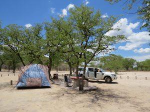 Halali Camp Etosha Namibië