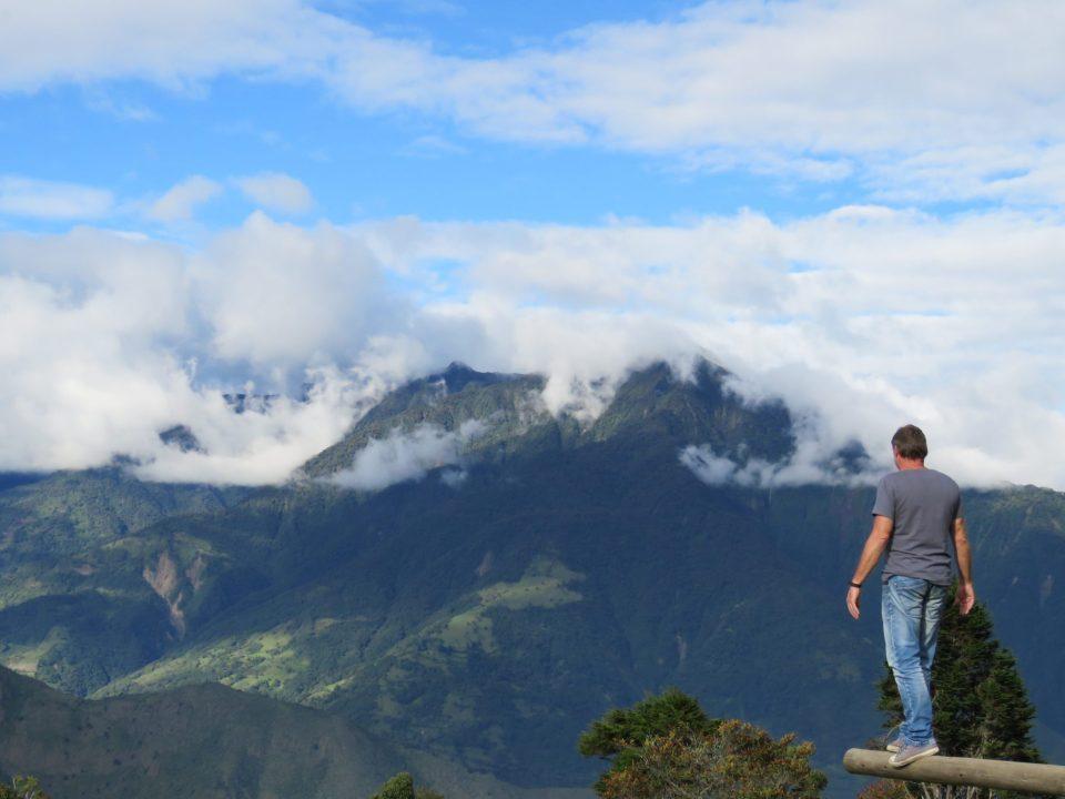 omgeving Banos Ecuador