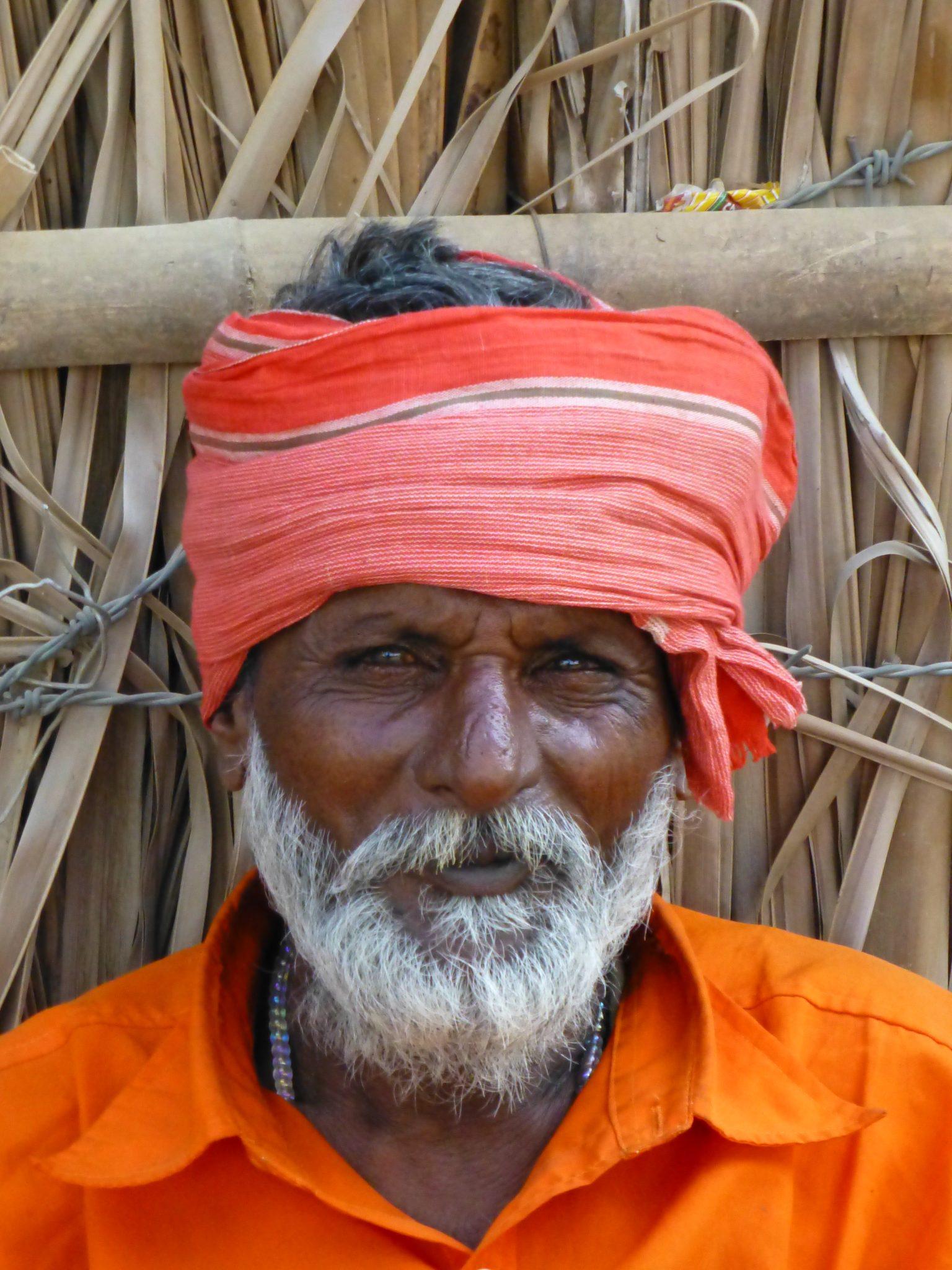 man in Hampi India