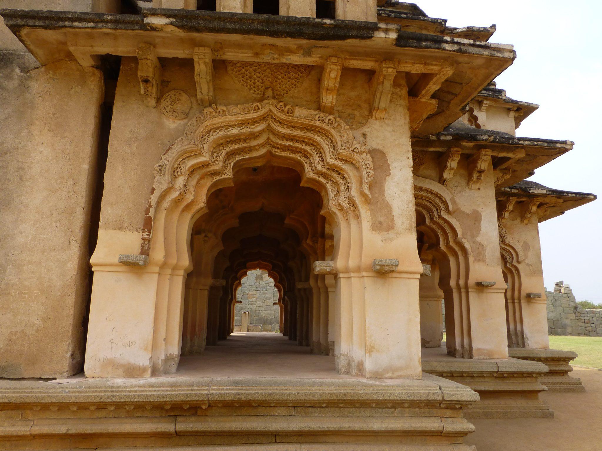 tempel Hampi India