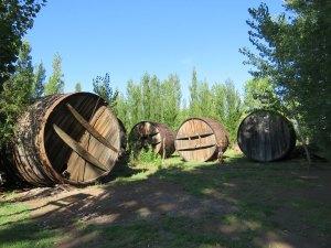 Wijnvaten Mendoza Argentinie