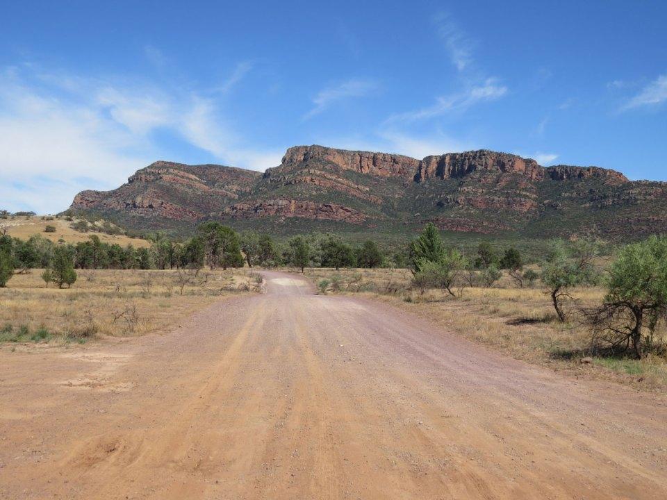 Flinders Ranges Outback Australië