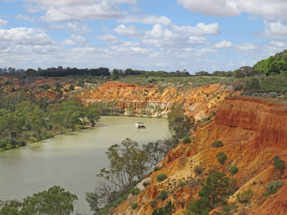 the Murray River in Australië