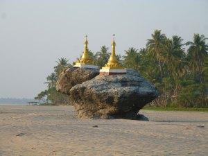 Ngwe Saung strand in Myanmar