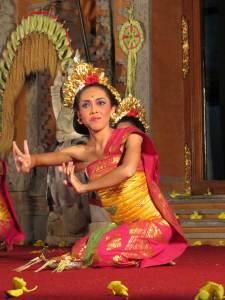 Balinese dansshow in Ubud Indonesië