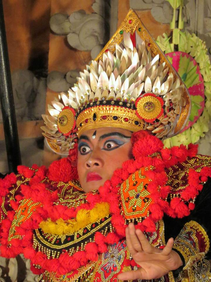 Balinese dansshow in Ubud Indonesië