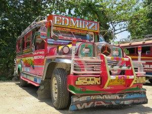 Transport jeepneys Bohol Filipijnen