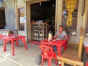 Lokaal restaurant Bohol Filipijnen