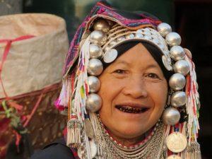 Akha vrouw Mae Salong Thailand