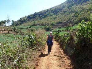 Trekking in omgeving Kalaw Myanmar