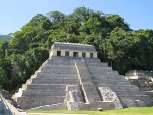 Maya tempels Palenque Mexico