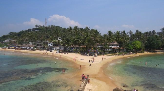 Strand van Mirissa Sri Lanka