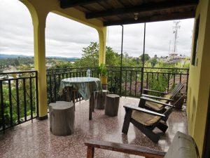 Terras bij Posada el Arco Chichicastenango