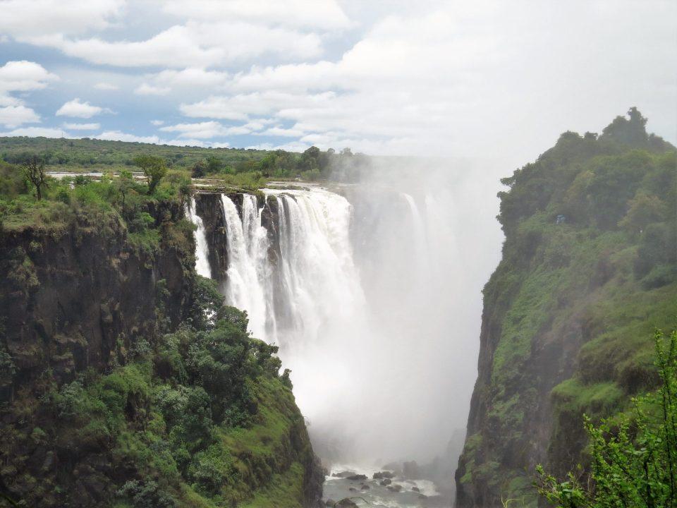 Victoria Falls Zimbabwe vanuit Botswana