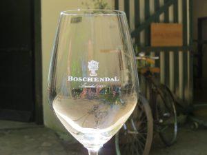 Wijnproeverij boschendal Zuid-Afrika