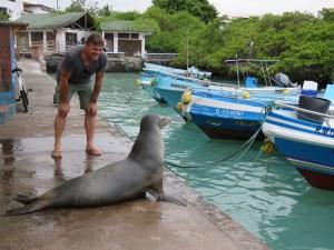 Vismarkt Santa Cruz Galapagos Ecuador
