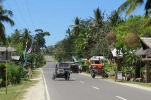 Straatbeeld Siquijor Filipijnen