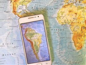 Simkaarten in Zuid-Amerika