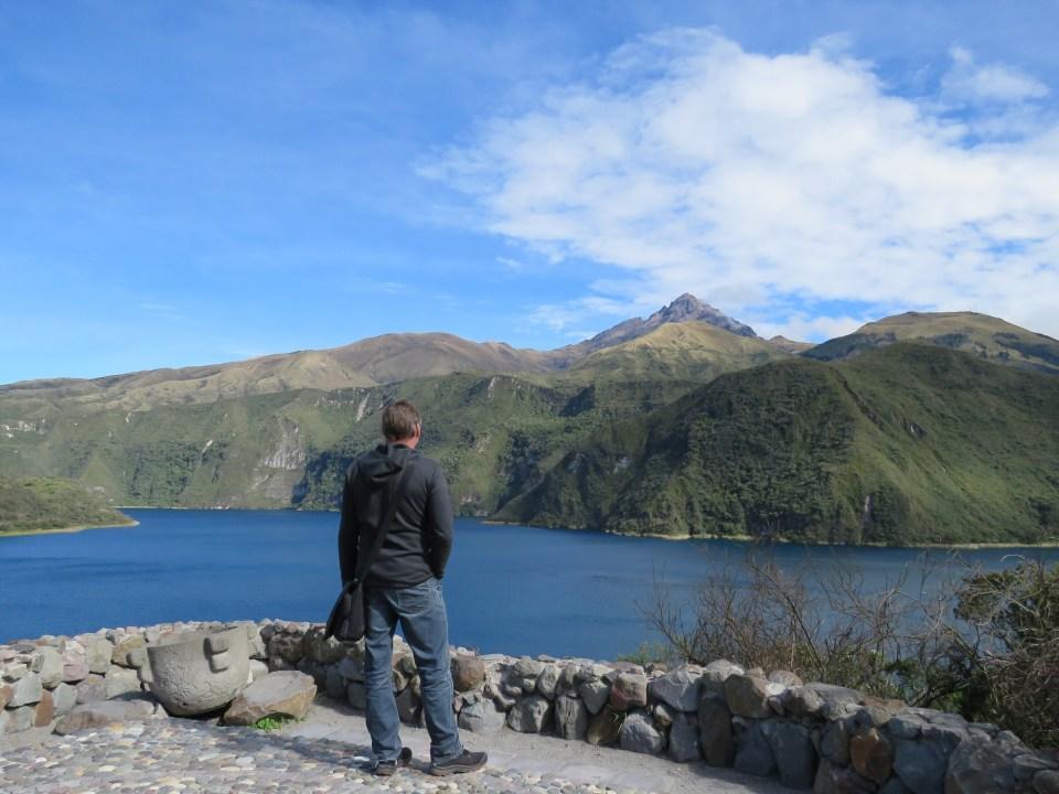 Craterlake Cuicocha Otavalo Ecuador