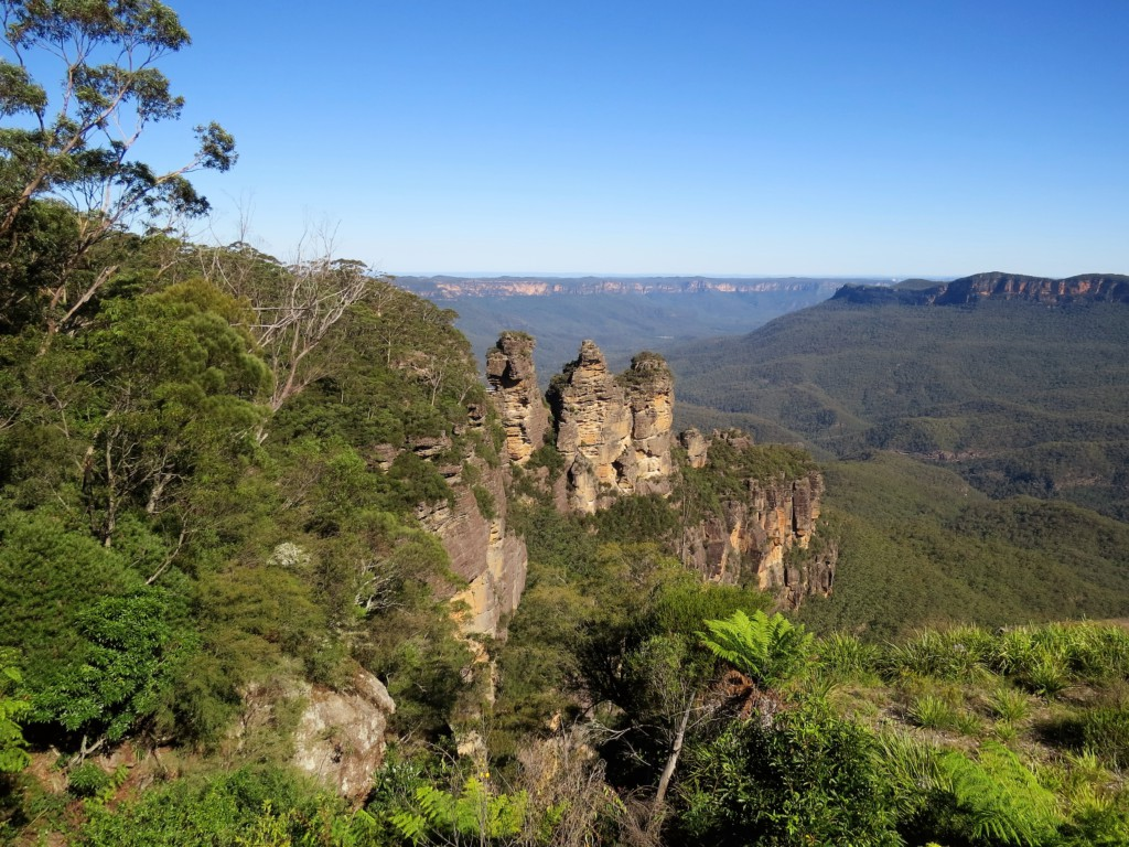Three-Sisters-in-Blue-Mountains-Australie