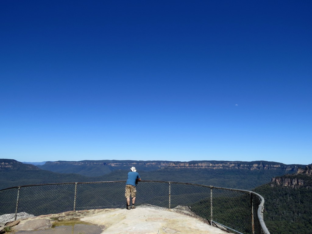Uitzicht-in-Blue-Mountains-Australie