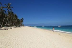 Boracay strand Filipijnen