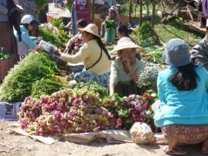 Lokale markt in Myanmar