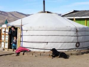 Nomaden Mongolië