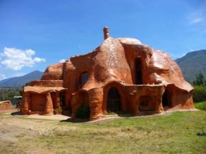 Terracotta house bij Villa de Leyva Colombia