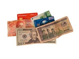 geld buitenland