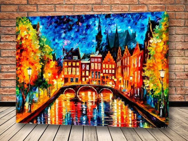 Картина Ворота в Амстердам