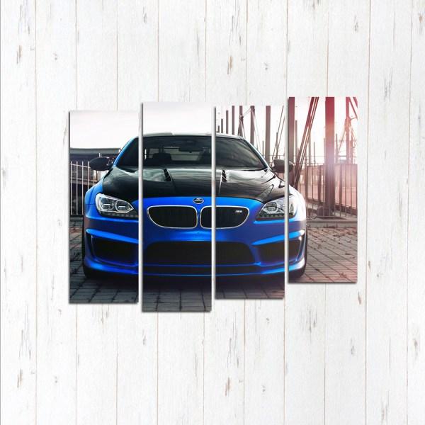 Модульная картина BMW M6 competition