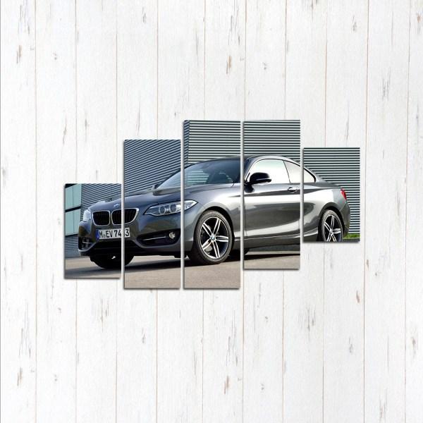 Модульная картина BMW 3 coup