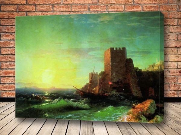 Картина Башни на скале у Босфора 1859