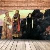 Картина Три царевны подземного царства Васнецова