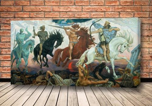 Картина Воины Апокалипсиса Васнецов