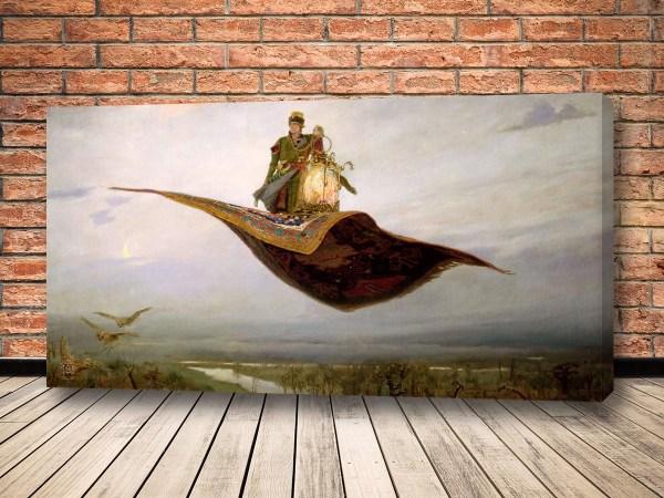 Картина ковёр-самолёт Васнецова