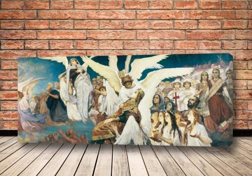 Картина Радость праведных о Господе Васнецова