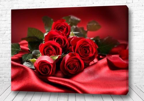 Постер Красные розы