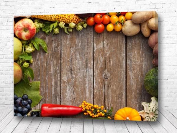 Постер Овощной стол