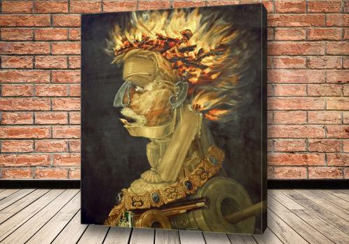 Картина Огонь Джузеппе Арчимбольдо